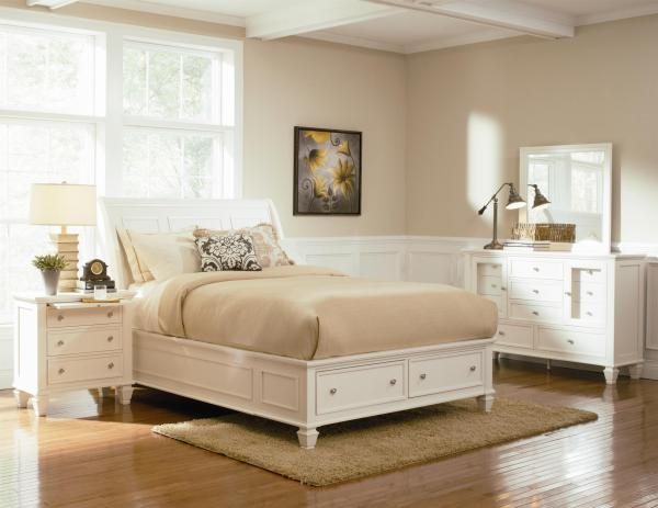 platform bed, storage bed, stylish bed, clean lines, tall bed